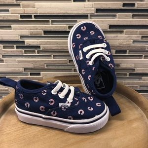 Baby VANS - Chicago Cubs!!! Size 4